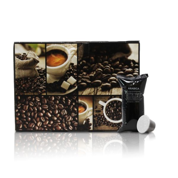 Fortissimo Arabica - Intensità 9 - Nespresso®* - Neronobile