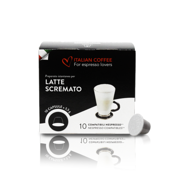 Latte scremato - Nespresso®* - Italian Coffee